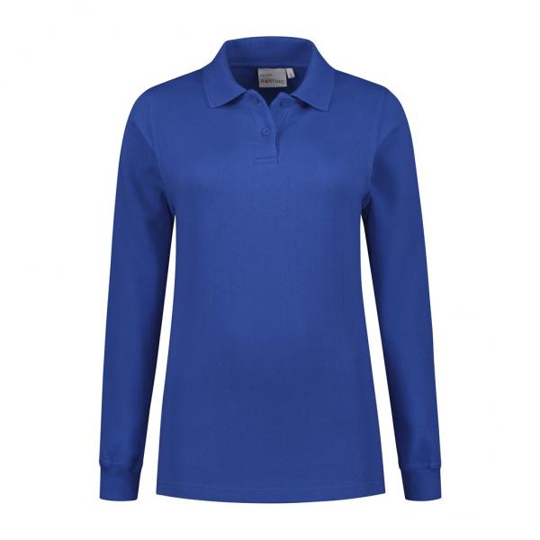 SANTINO Dames Polosweater RICK (zonder tailleboord) - RRZVL (met borst- en ruglogo)