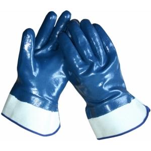 Handschoen NBR canvas kap - Blauw 10.248