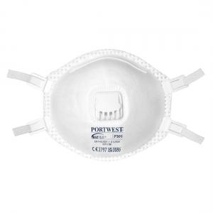 PW Stofmasker P301 + ventiel FFP3 (10 stuks)