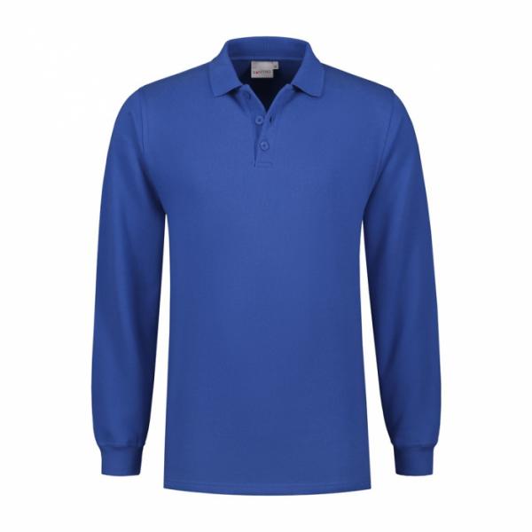 SANTINO Polosweater RICK (zonder tailleboord) - RRZVL (met borst- en ruglogo)